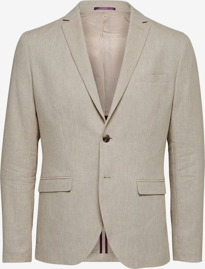 SELECTED HOMME Blazer in beige: Frontalansicht