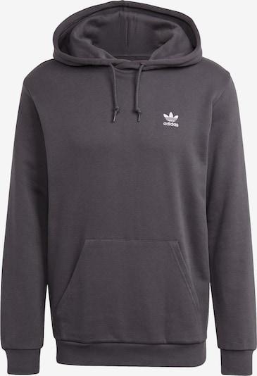 ADIDAS ORIGINALS Sweatshirt in de kleur Donkergrijs / Wit, Productweergave