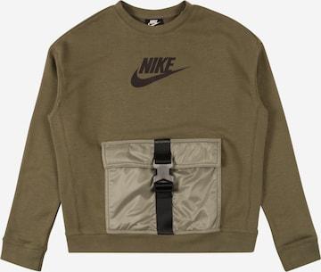 Sweat Nike Sportswear en vert