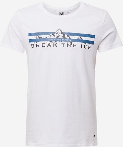 Marškinėliai 'Marlon' iš Hailys Men , spalva - mėlyna / juoda / balta, Prekių apžvalga