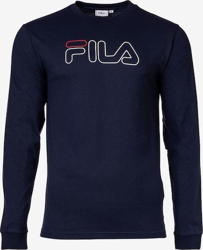 FILA Sweatshirt in Night blue / bright red / White, Item view