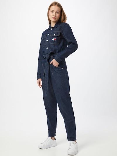 Tommy Jeans Overal - tmavě modrá, Model/ka