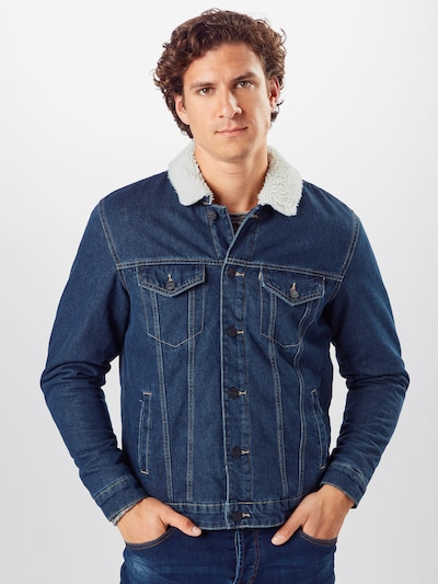 Only & Sons Jacke 'LOUIS LIFE' in blue denim: Frontalansicht