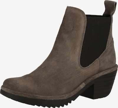 FLY LONDON Chelsea Boots in taupe / schwarz, Produktansicht