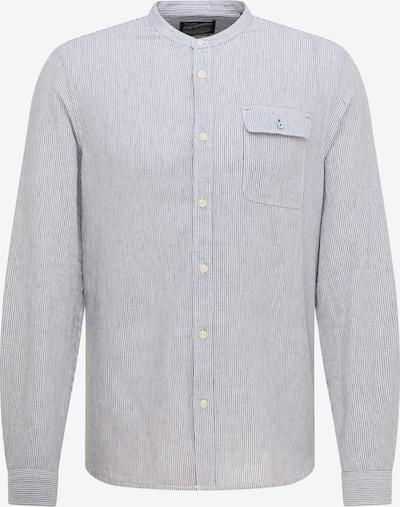 Petrol Industries Košeľa - svetlosivá / biela, Produkt