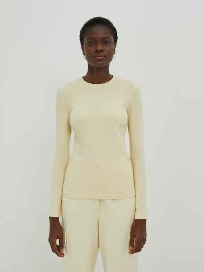 EDITED Shirt 'Gwen' in Beige, View model