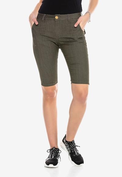 CIPO & BAXX Shorts in khaki, Modelansicht