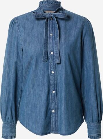 Polo Ralph Lauren Bluse 'ANGA' in Blau