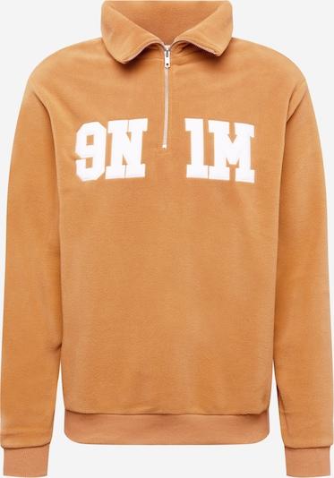 9N1M SENSE Sweatshirt in Light brown / White, Item view