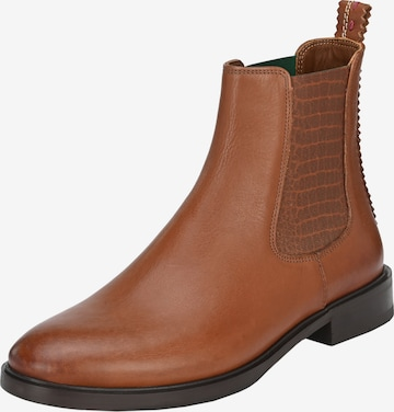 Crickit Chelsea Boots 'ALEXIA' in Braun