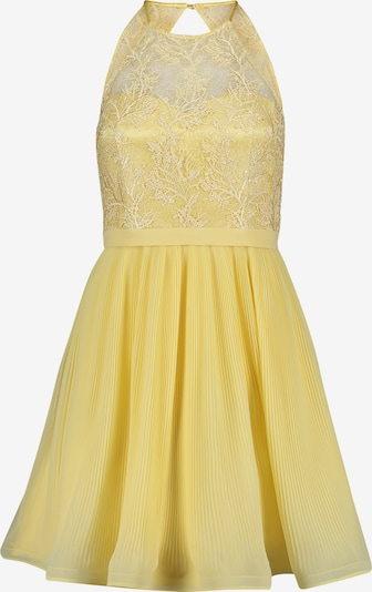 Vera Mont Abendkleid mit Plissee in gelb, Produktansicht