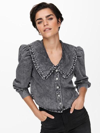 Bluză 'ONLTHEA' ONLY pe gri denim, Vizualizare model
