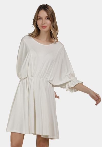 DreiMaster Vintage Sommerkleid in weiß, Modelansicht