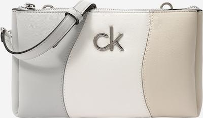 Calvin Klein Tasche in beige / creme / hellgrau, Produktansicht