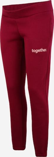 Pantaloni MAMALICIOUS di colore borgogna, Visualizzazione prodotti