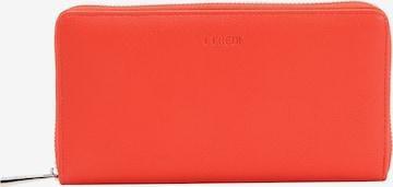L.CREDI Brieftasche in Orange