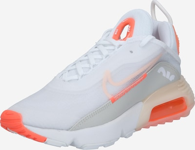 Nike Sportswear Sneakers laag 'Air Max 2090' in de kleur Grijs / Oranjerood / Wit, Productweergave