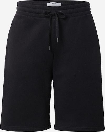 DAN FOX APPAREL Sweatshorts 'Tino' in schwarz, Produktansicht