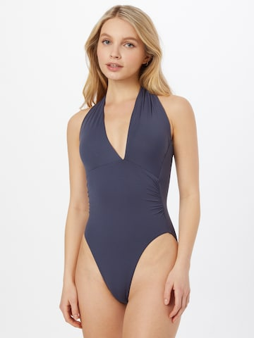 Seafolly Swimsuit 'Maillot' in Grey