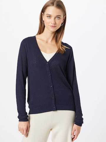 NÜMPH Knit Cardigan 'Cassie' in Blue