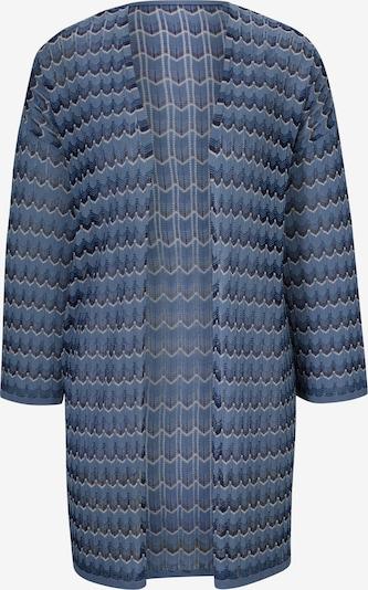 heine Cardigan oversize en bleu / noir, Vue avec produit