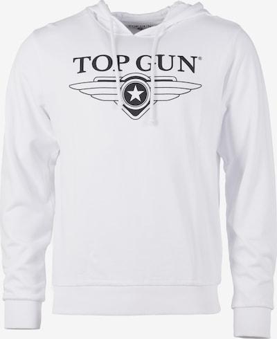 TOP GUN Hoodie in weiß, Produktansicht