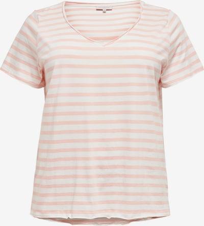 ONLY Carmakoma Shirt 'CARLIFE' in pfirsich / weiß, Produktansicht