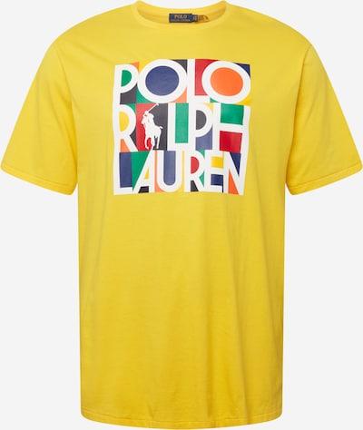 Polo Ralph Lauren Big & Tall T-Shirt in marine / goldgelb / limone / schwarz / weiß, Produktansicht