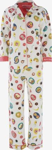 PJ Salvage Pajama ' Cozy Casual ' in White