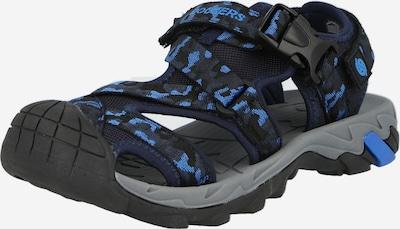 Atviri batai iš Dockers by Gerli, spalva – mėlyna / juoda, Prekių apžvalga