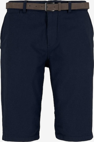 TOM TAILOR Chinohose in Blau