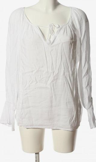 SACKS V-Ausschnitt-Shirt in S in weiß, Produktansicht