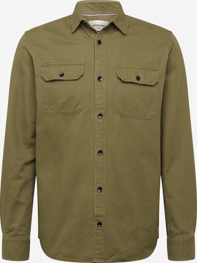 JACK & JONES Hemd in grün / dunkelgrün, Produktansicht