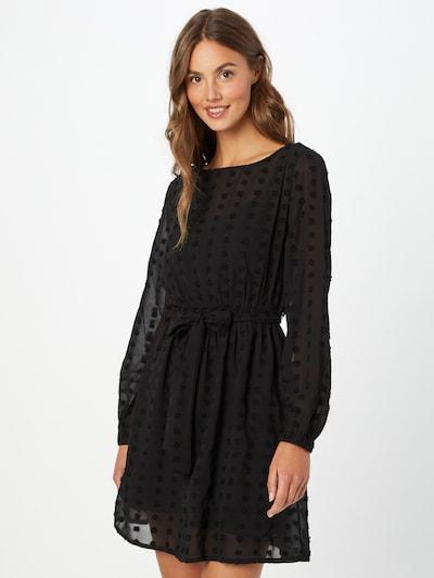ABOUT YOU Kleid'Leandra' in schwarz / transparent, Modelansicht