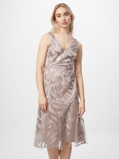 Rochie de cocktail Adrianna Papell pe roz vechi, Vizualizare model