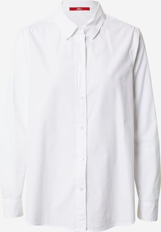 s.Oliver Bluse in Weiß