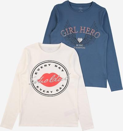 NAME IT Shirt in blau / rot / schwarz / weiß, Produktansicht