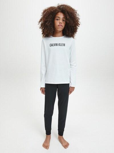 Calvin Klein Underwear Schlafanzug in schwarz / weiß: Frontalansicht