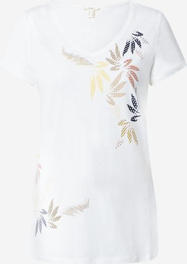 ESPRIT Tričko 'Leaf' - noční modrá / mix barev / oranžová / pudrová / offwhite, Produkt