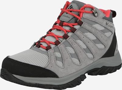 COLUMBIA Bootsit 'REDMOND III' värissä basaltinharmaa / punainen / musta, Tuotenäkymä