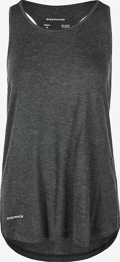 ENDURANCE Tanktop in graumeliert / schwarz, Produktansicht