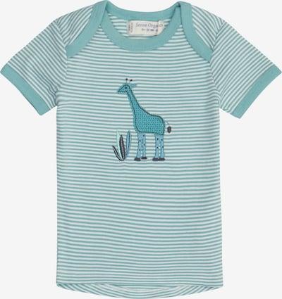Sense Organics Camiseta 'TILLY' en jade / blanco, Vista del producto