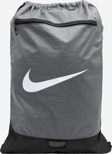 NIKE Športová taška - sivá / biela, Produkt