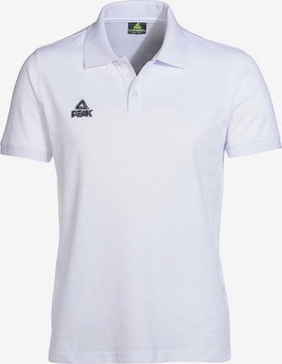 PEAK Polo-Shirt in weiß, Produktansicht
