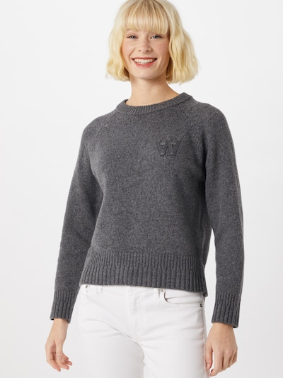 WOOD WOOD Pullover in grau, Modelansicht