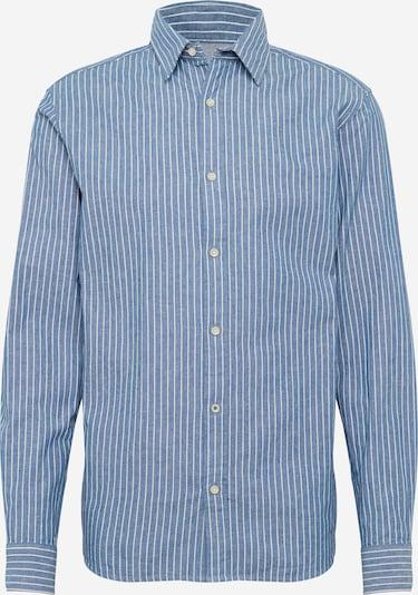 JACK & JONES Hemd in blau / weiß, Produktansicht