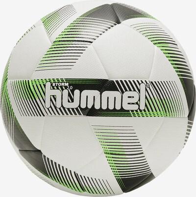 Hummel Ball in grau / limette / weiß: Frontalansicht