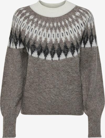 JDY Sweater 'Trish' in Mocha / Grey / Black / White, Item view
