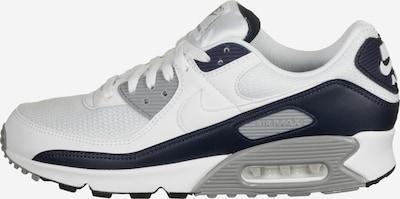 NIKE Schuh 'Air Max 90' in blau / weiß, Produktansicht