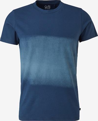 Q/S by s.Oliver Shirt in taubenblau / dunkelblau, Produktansicht